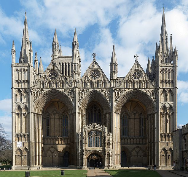 File:Peterborough Cathedral March 2010.jpg