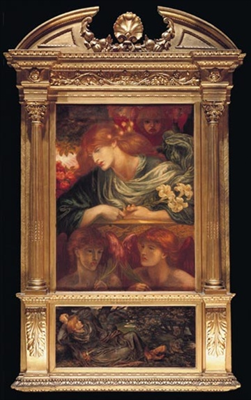 Dante Rossetti 'The Blessed Damozel'